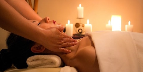 Back/Neck Massage and Aromatherapy Massage